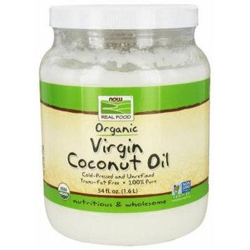 NOW Foods - Real Food Virgin Coconut Oil Organic - 54 oz