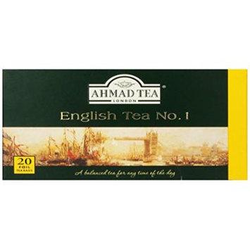 Ahmad Tea English Tea No.1, 20 count (Pack of 6)