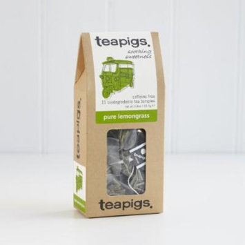 Teapigs Whole Leaf Tea (Lemongrass, 15 temples)