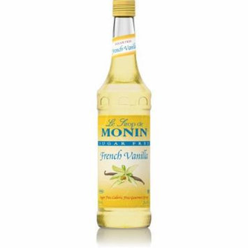 Monin Sugar Free French Vanilla Syrup O'free (Sugar Free, Calorie Free), 33.8-Ounce Plastic Bottle (1 liter Bottle)