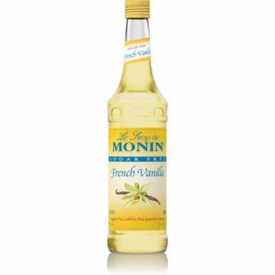 Monin Sugar Free French Vanilla Syrup O'free (Sugar Free, Calorie Free), 33.8-Ounce Plastic Bottle (1 liter Bottle)