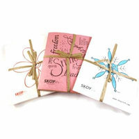 Skoy Cloth Variety Set of 3 Packs (White with Flower, Holiday, and Inspirational Text)