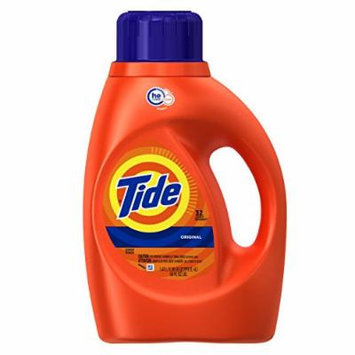 Tide Original Scent HE Liquid Laundry Detergent, 50 Fl Oz, 2 Count