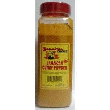 Jamaican Choice Jamaican Curry Powder 22 Oz - HOT