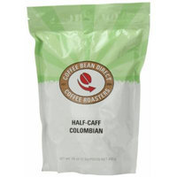 Half-Caff Colombian, Whole Bean Coffee, 16 Ounce Bags (Pack of 3)
