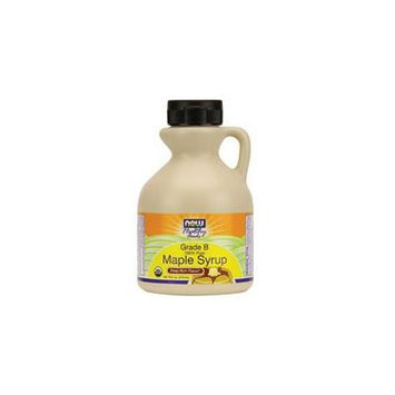 Now Foods Maple Syrup Organic, Grade B, 16 Oz (Pack of 2)