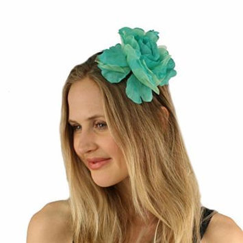 Pretty Flower Girl Bridal Floral Satin Headband Fascinator Cocktail Hat Mint
