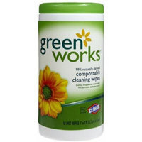 Green Works Compostable Cleaning Wipes - Original Scent - 62 ct