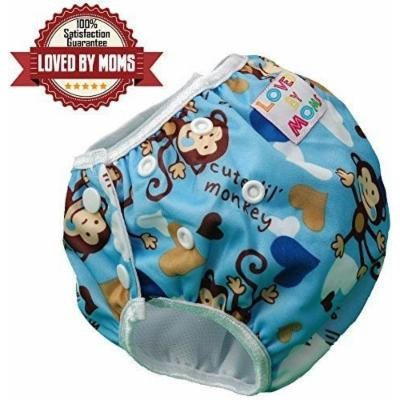Reusable Swim Diaper - Potty Training Pants - Waterproof Diaper Cover