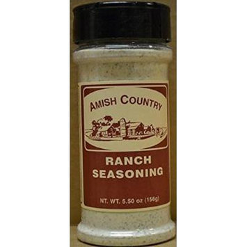 Amish Country Popcorn Ranch Seasoning 5.5 Oz Shaker
