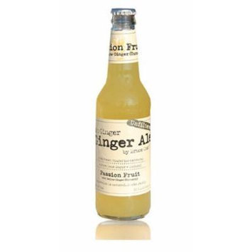 Bruce Cost Fresh Ginger Ale Passion Fruit - Case of 12
