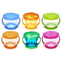 Munchkin Snack Catcher Snack Container, 6 Pack, Colors May Vary