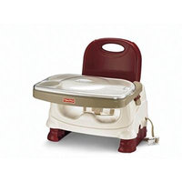 Fisher Price Healthy Care Deluxe Booster Seat Baby Feeding Seat Red Chair