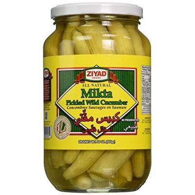 Ziyad Wild Cucumbers Mikta Pickle, 30 Ounce