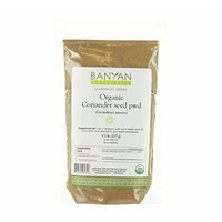 Banyan Botanicals Coriander Powder - Certified Organic, 1/2 lb - Coriandrum sativum - A cooling household spice that promotes healthy digestion
