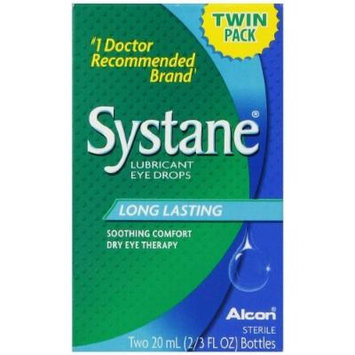 Systane Lubricant Eye Drops, 2 Count
