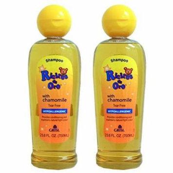 2 PACKS Grisi Ricitos De Oro Baby Shampoo Hypoallergenic Manzanilla Chamomile 23.6 oz each
