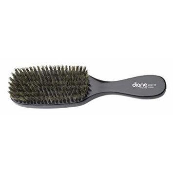 Diane Men's Natural Boar Bristle Wave Brush, 9 Inches #8119 - 2 pieces
