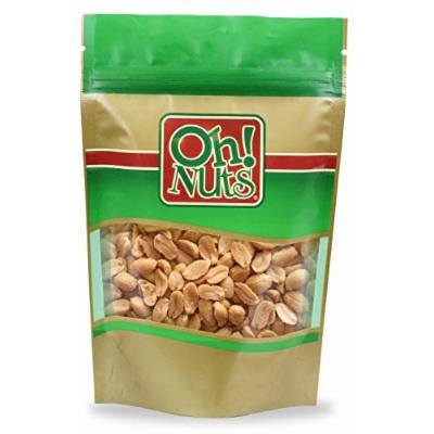 Roasted Peanuts - Oh! Nuts (Unsalted) (5 Pound Bag)