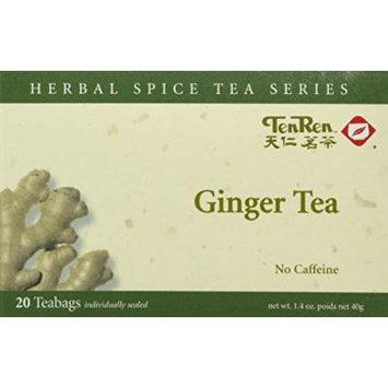 Ten Ren Ginger Tea (Caffeine Free) - 20 Bags