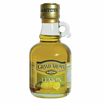 Grand'aroma Lemon Extra Virgin Olive Oil, 8.5-Ounce Bottles (Pack of 3)