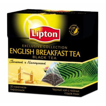 2 packs of Lipton English Breakfast Black Tea (2g x 20)