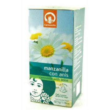 Spanish Chamomile & Anis Tea (25 bags)