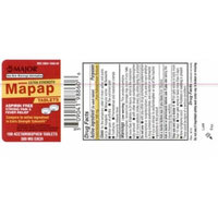 Mapap Extra Strength Tablets, 500mg, 100ct