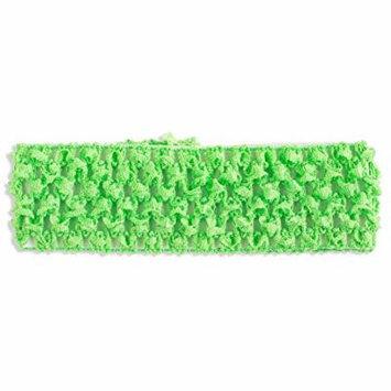 Light Green Crochet Headband