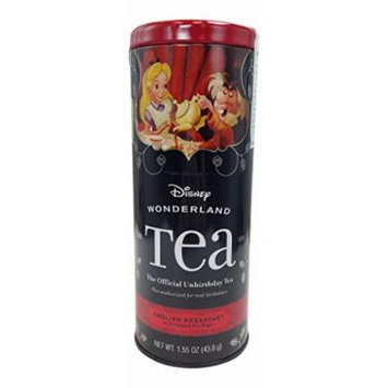 Disney Wonderland Tea : English Breakfast 25 Tea Bags : Disney Parks Exclusive