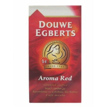 Douwe Egberts Aroma Red Ground Coffee, 17.6-Ounce Packages (Pack of 3)