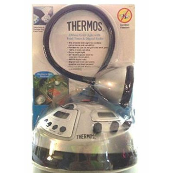 Thermos Deluxe Grill Light with Food Timer & Digital Radio