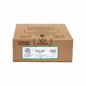Sprite Zero Soda Syrup 2.5 Gallon Bag in Box BIB Sodastream