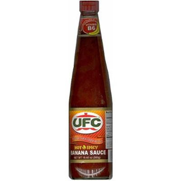 UFC Hot & Spicy Banana Sauce 19.40 oz (Pack of 3)