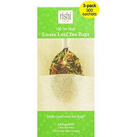 Rishi Tea Loose Leaf Tea Bags, 3-pack (300 Total)