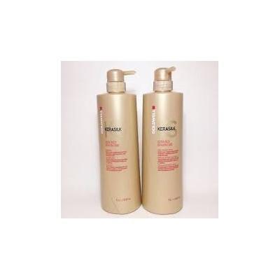 Goldwell Kerasilk ULTRA RICH KERATIN CARE Shampoo and Daily Intense Mask LITER