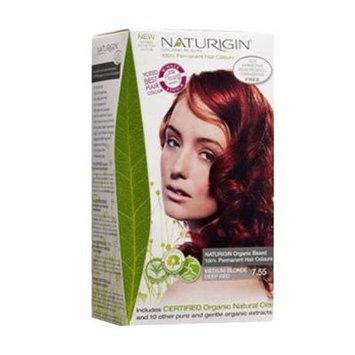 Naturigin Permanent Hair Color, Blonde Deep Red, Medium