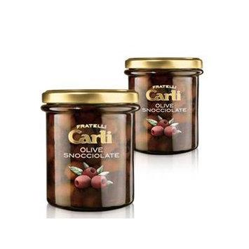 Carli Stoned Olives. Two 270 Gram (9.5 oz.) jars.