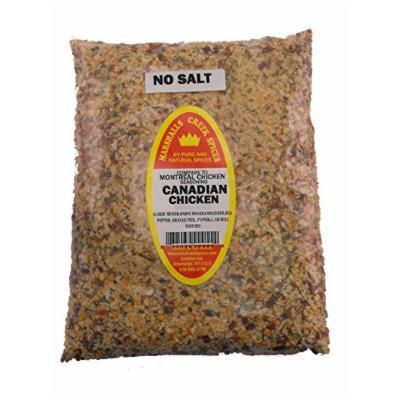 Marshalls Creek Spices Family Size Refill Canadian Ckicken No salt Seasoning 44 Ounce