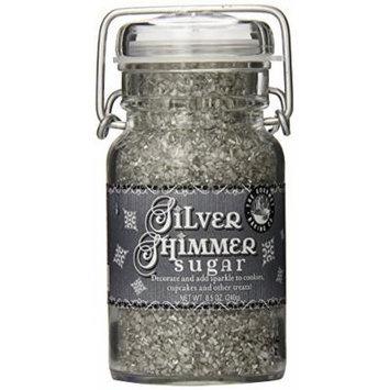 Pepper Creek Farms Sugar, Silver Shimmer, 8.5 Ounce