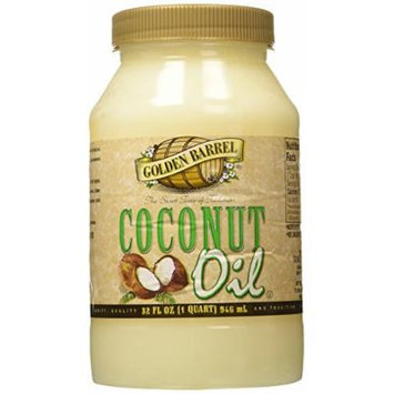 Golden Barrel Coconut Oil 32 Oz
