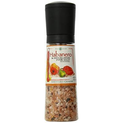 Dean Jacobs Jumbo Grinder, Habanero and Himalayan Pink Salt Seasoning, 12.2 Ounce