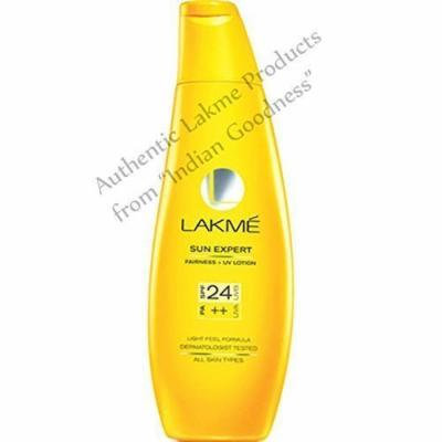 Lakme Sun Expert Fairness - UV Lotion - SPF 24 PA++ (120 ml) + Free Gifts + Free Shipping - by Indian Goodness
