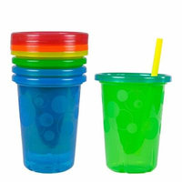 2X The First Years Take and Toss Straw Cups, 10 Ounce, 4 Count