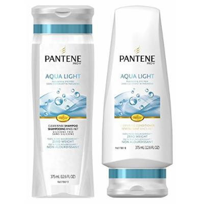 Pantene Pro-V Aqua Light Clean Rinse Shampoo & Conditioner