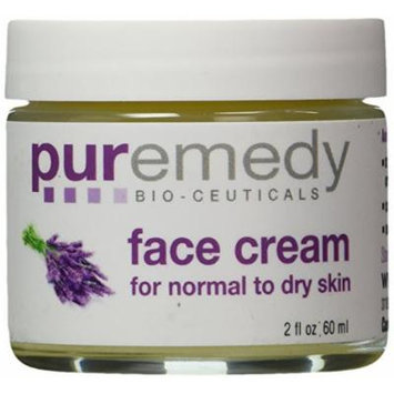 Puremedy Unscented Nourishing Face Cream for Normal To Dry Skin, 2 Ounce