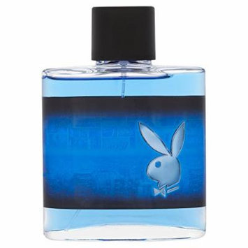 Playboy Super EDT Spray for Men, 3.4 Fluid Ounce