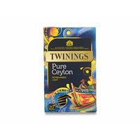 Twinings® Pure Ceylon Refreshingly Light Individually Enveloped String & Tag Bags