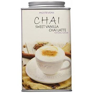 McStevens CHAI Sweet Vanilla Chai Latte natural flavor 6.25oz