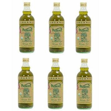 Paesano Usda Organic Sicilian Extra Virgin Olive Oil - 6 Bottles 34oz. Each